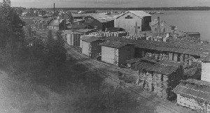 Finska fiskeri och Tunnfabriken på 1930-talet.