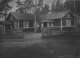 Småskolan från förra hälften av 1900-talet.